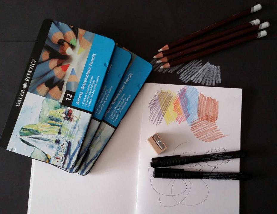 Watercolour Pencils Life Drawing Workshop | OxOnArts info
