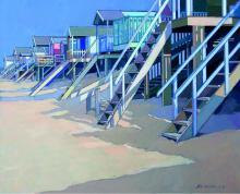 Beach Huts by John Sprakes