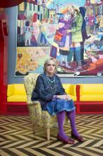 Grayson Perry - In Its Familiarity, Golden, Grayson Perry, 2015. Crafts Council Collection: 2016.19. Purchase supported by Art Fund (with a contribution from The Wolfson Foundation), Maylis and James Grand, Victoria Miro and other private donors. Courtesy the Artist, Paragon Press, and Victoria Miro, London. © Grayson Perry