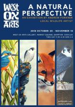 A Natural Perspective - An Exhibition by Andrew Forkner, Local Wildlife Artist
