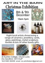 Art In The Barn Christmas Exhibition 2018