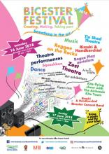 Bicester Festival flyer