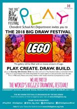 Play Create Draw Build poster, Big Draw