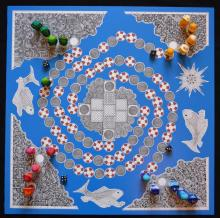 Board Game design by Cally Trench