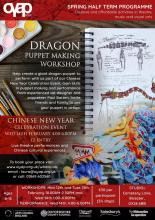 OYAP Chinese New Year Dragon Making Workshops and Community Celebration