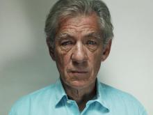 Sir Ian McKellen by Donald MacLellan