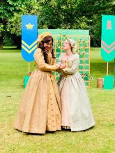Rosalind and Celia in As You Like It