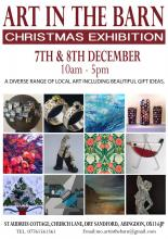 Art in the Barn Christmas Exhibition 2019