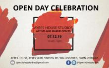 Art Studios Opening Celebration Invite