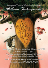 'As You Like It'    a Wargrave Theatre Workshop production