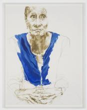Seated Figure II, Claudette Johnson