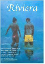 'RIVIERA',  an exhibition of oil paintings from the French Riviera, depicting light, warmth and colour