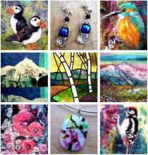 Elaine Newson Artweeks Exhibition