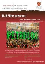 Free Screening: Peterloo, Wolfson College, 21 Oct