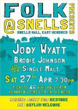 Folk Music Jodie Wyatt Brodie Johnson Single Malt