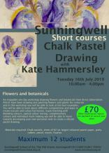 Flowers and Botanicals in pastel with Kate Hammersley