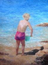 Summer Sun, oil on canvas, 60x45, 2019