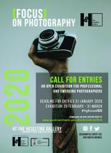 Poster for Focus on Photography Call for Entries