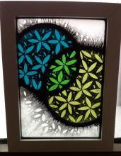 Decorative glass painting