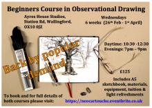 Beginners Course in Observational Drawing