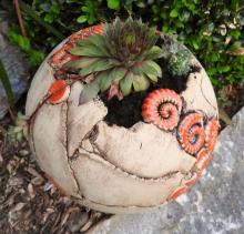 Globe Garden Planter