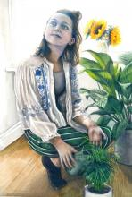 Portrait of a girl by Toby Stevens