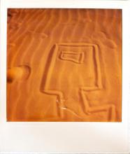 Untitled 9, Polaroid, 10.8 x 8.6 cm, Courtesy of Sidney Nolan Trust