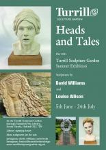 Exhibition poster for Heads and Tales