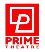 Red Prime Theatre logo. A P in a square with the words Prime Theatre beneath
